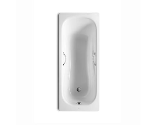 220270001 Roca Princess-N Ванна стальная, прямоугольная, размер 170x75 см., белая.