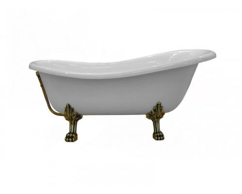 22105 W Ванна из литьевого мрамора Astra-Form Роксбург белая