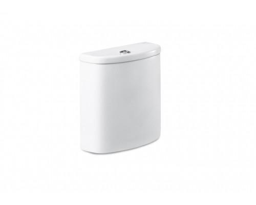 34151B000 Бачок Roca Dama SENSO Compacto с механизмом смыва, цвет белый Длина:  400 mm. Ширина:  140 mm. Высота:  375 mm.