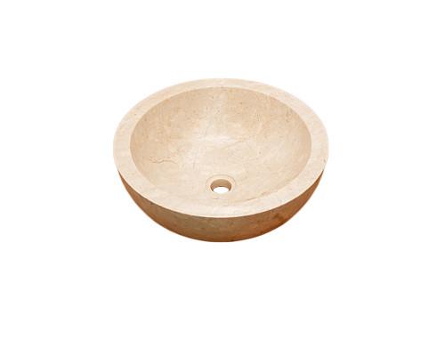 47500 Indo Lizea Cream S Раковина накладная, размер 40x40 см., цвет кремовый