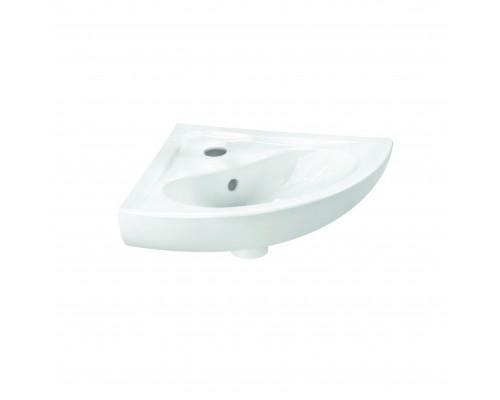 6093B003-0001 Vitra Arkitekt Раковина угловая, подвесная, фаянс, белая.