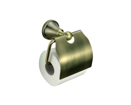BR89427 Zollen BREMEN Держатель для туалетной бумаги с крышкой, в бронзе.