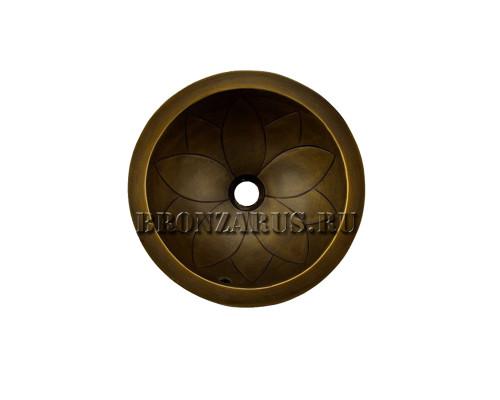 BS-Z80382 Koozee Раковина врезная, из бронзы, цвет бронза.