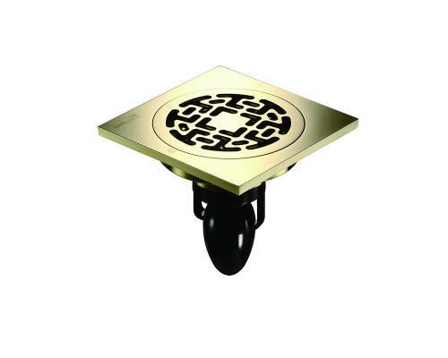 "C06Q5-Z Magdrain Трап с магнитным затвором, ""сухой"", цвет натуральная бронза."