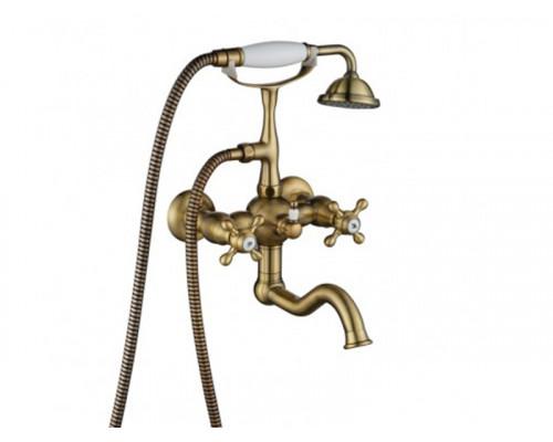 Cмеситель для ванной Primavera 101 BR Aksy Bagno друхвентильный цвет бронза