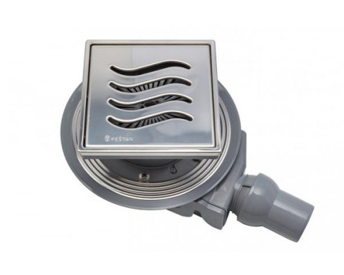 Душевой трап Pestan Confluo Standart Tide 4 150x150 без рамки
