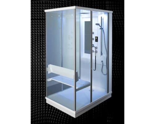 Двухместная паровая баня-массажная кабина Balteco Tetris