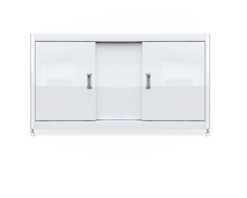 Экран для ванны Emmy Виктория 147 см., цвет белый
