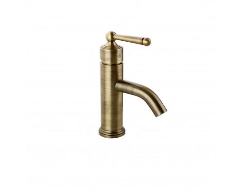 F1052-11 Frap Man Смеситель для раковины, однарычажный, цвет бронза.