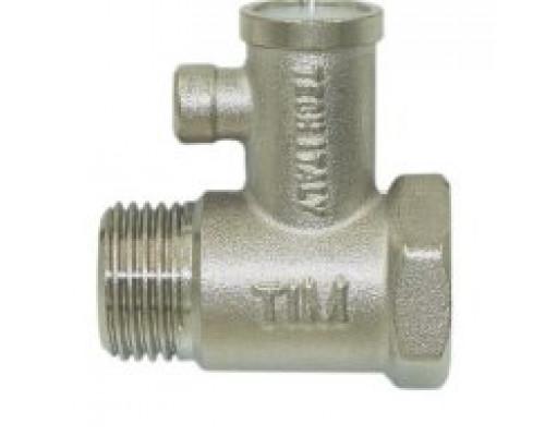 Клапан предохранительный бойлера  без курка Tim 1/2 BL5812 A