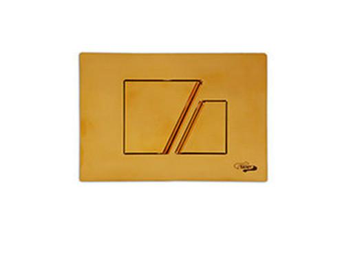 Клавиша для смыва Sanit S 707 16.707.88..0008gold золото