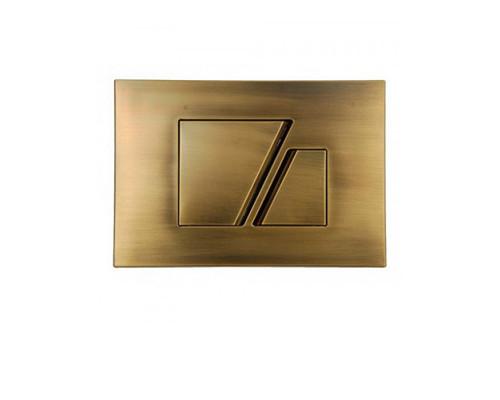 Клавиша смыва Sanit 16.707.D2 цвет бронза