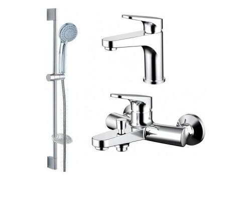 Комплект Bravat Eler F00450CP для ванной комнаты 3 в 1