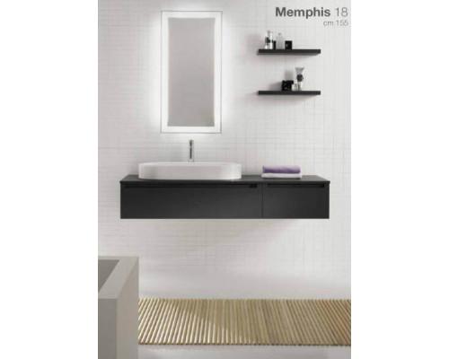 Комплект мебели для ванной комнаты Berloni Bagno Memphis 18.