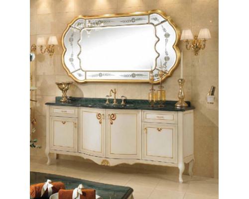 Комплект мебели для ванной комнаты Lineatre Gold