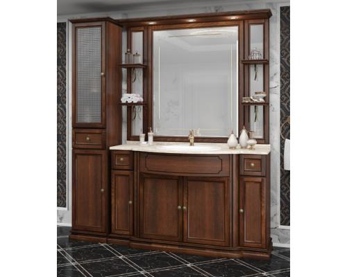 Комплект мебели для ванны Opadiris Корсо Оро № 6 цвет светлый орех