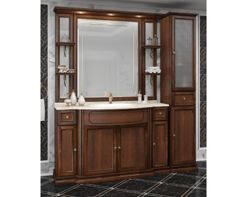 Комплект мебели для ванны Opadiris Корсо Оро № 7 цвет светлый орех