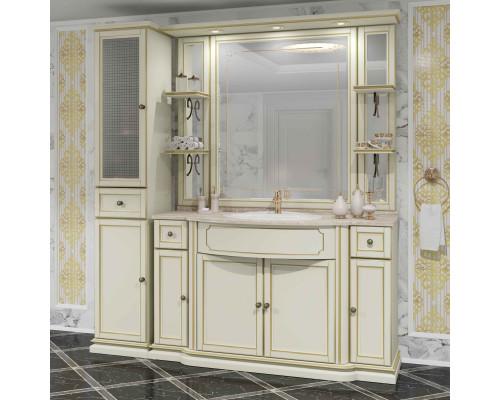 Комплект мебели Opadiris Корсо Оро № 6 цвет слоновая кость с патиной