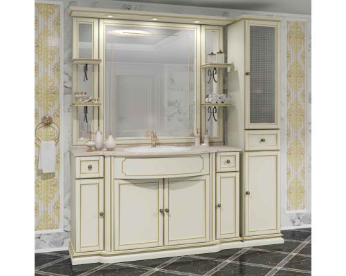 Комплект мебели Opadiris Корсо Оро № 7 цвет слоновая кость с патиной