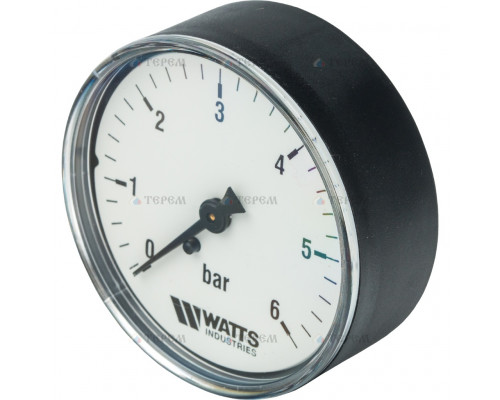 Манометр акс. 63/6 (1/4, 6 бар) Watts -
