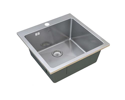 Мойка для кухни GLOW ZorG SH R 5151 цвет нержавеющая сталь