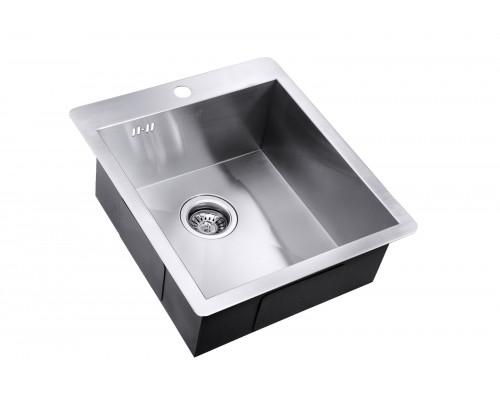Мойка для кухни ZorG AX-4551 цвет нержавеющая сталь