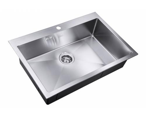 Мойка для кухни ZorG DIVON SH R 7551 цвет нержавеющая сталь