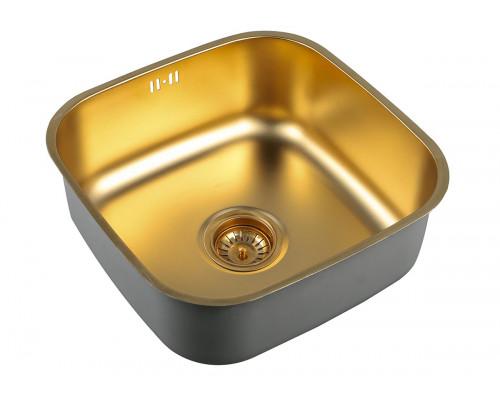 Мойка для кухни ZorG SZR 4040 BRONZE цвет бронза