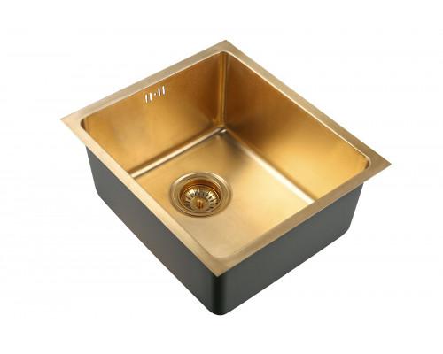 Мойка для кухни Zorg SZR 4438 BRONZE цвет бронза