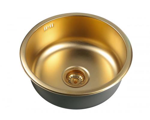 Мойка для кухни Zorg SZR 450 BRONZE цвет бронза