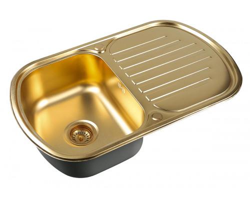 Мойка для кухни Zorg SZR 7749 BRONZE цвет бронза