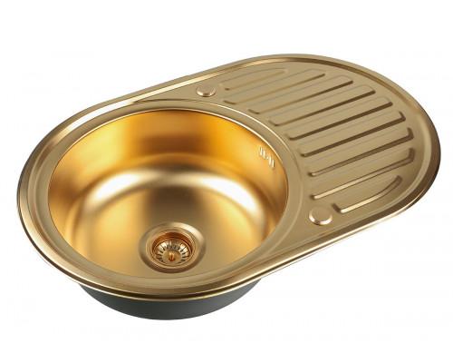 Мойка для кухни Zorg SZR 7750 BRONZE цвет бронза