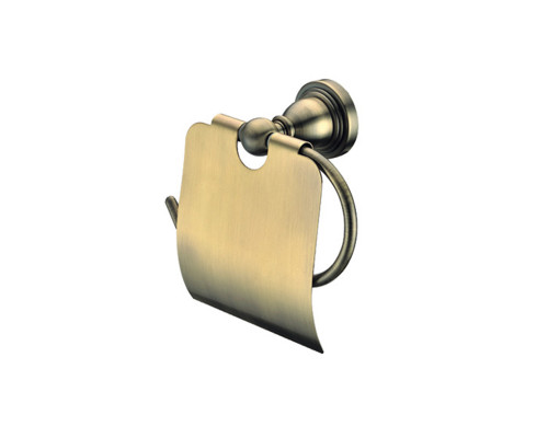 MSK521 Gro Welle Muskat Держатель для туалетной бумаги с крышкой, в бронзе.
