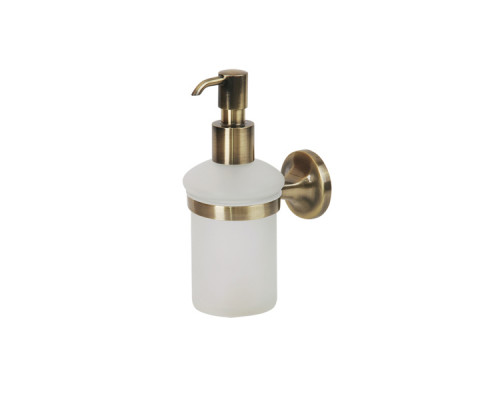 OSC-5270.BR Veragio Oscar Дозатор жидкого мыла настенный, бронза.