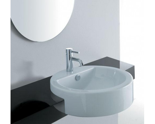 Полувстраиваемая раковина Disegno Ceramica Magritte 659/1