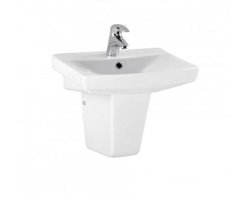 S-UM-CAR50/1 Cersanit Carina 50 Раковина для ванной комнаты, цвет белый