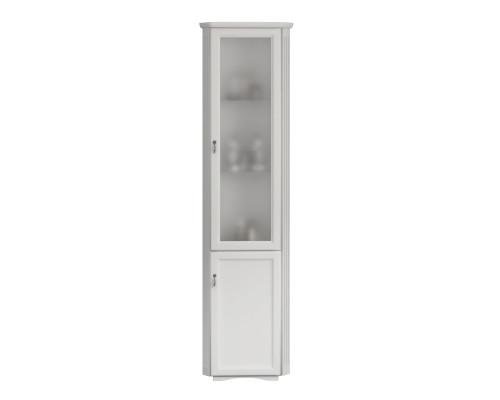 Шкаф-пенал угловой Opadiris Клио 37 R цвет белый матовый