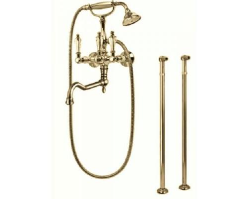Смеситель Cezares Diamond DIAMOND-VDP-02-Sw для ванны с душем напольный бронза