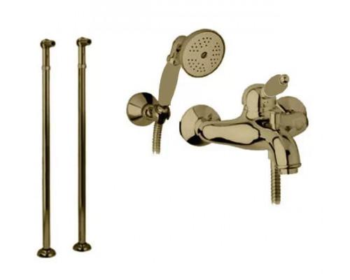 Смеситель Cezares Elite ELITE-VDPM-02-Bi для ванны с душем напольный бронза