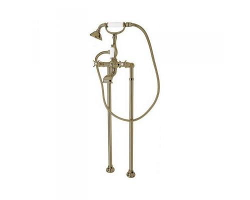 Смеситель Cezares Lord LORD-VDP-02 для ванны с душем напольный бронза