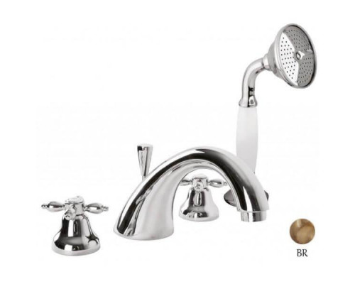 Смеситель Cezares Nostalgia NOSTALGIA-BVD-02 для ванны с душем