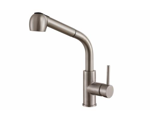 Смеситель для кухни Zorg Steel Hammer SH 6006 INOX нержавейка