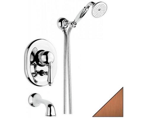 Смеситель встраиваемый для ванны и душа Nicolazzi P.M. Blanc 3400DB76