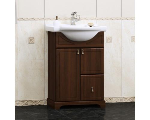 Тумба для ванной комнаты Opadiris Клио 50 цвет орех антикварный