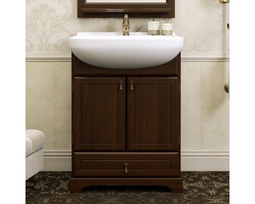Тумба для ванной комнаты Opadiris Клио 65 цвет орех антикварный