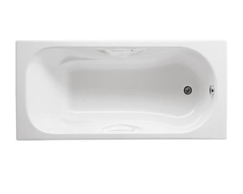 Ванна чугунная 170х75 Roca Malibu без отверстий для ручек