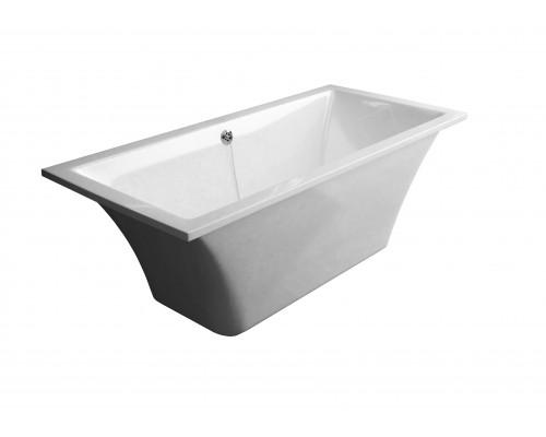 Ванна из литьевого мрамора Astra-Form Лотус белая
