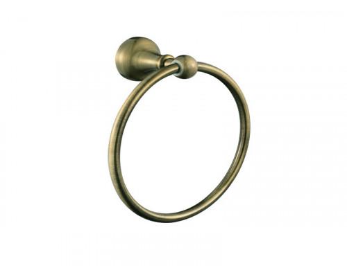 Вешалка для полотенец,кольцо A8507 Queen bronze Aksy Bagno цвет бронза