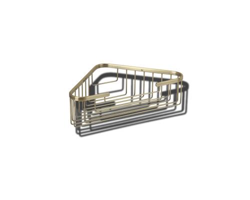 VR.GFT-9039.BR Veragio BASKET Полка угловая, мелкая, бронза