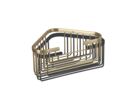 VR.GFT-9043.BR Veragio BASKET Полка угловая, глубокая, бронза